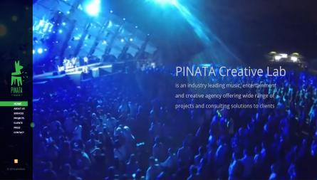 Pinata project, Drupal website for event production