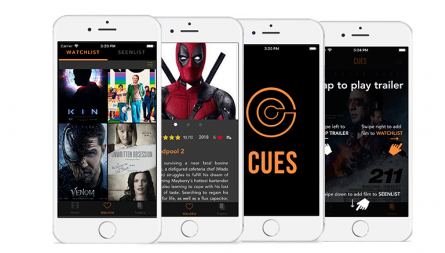 Cues project, movie industry startup platform